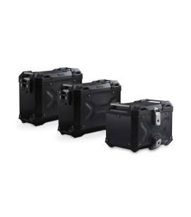 Kit valises Africa Twin ADV Sports - SW Motech Adventure Noir