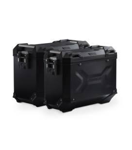 Kit valises Africa Twin ADV Sports - SW Motech TRAX ADV Noir