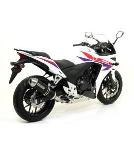 Silencieux Honda CBR500R 13-15 / Arrow Race Tech embout acier