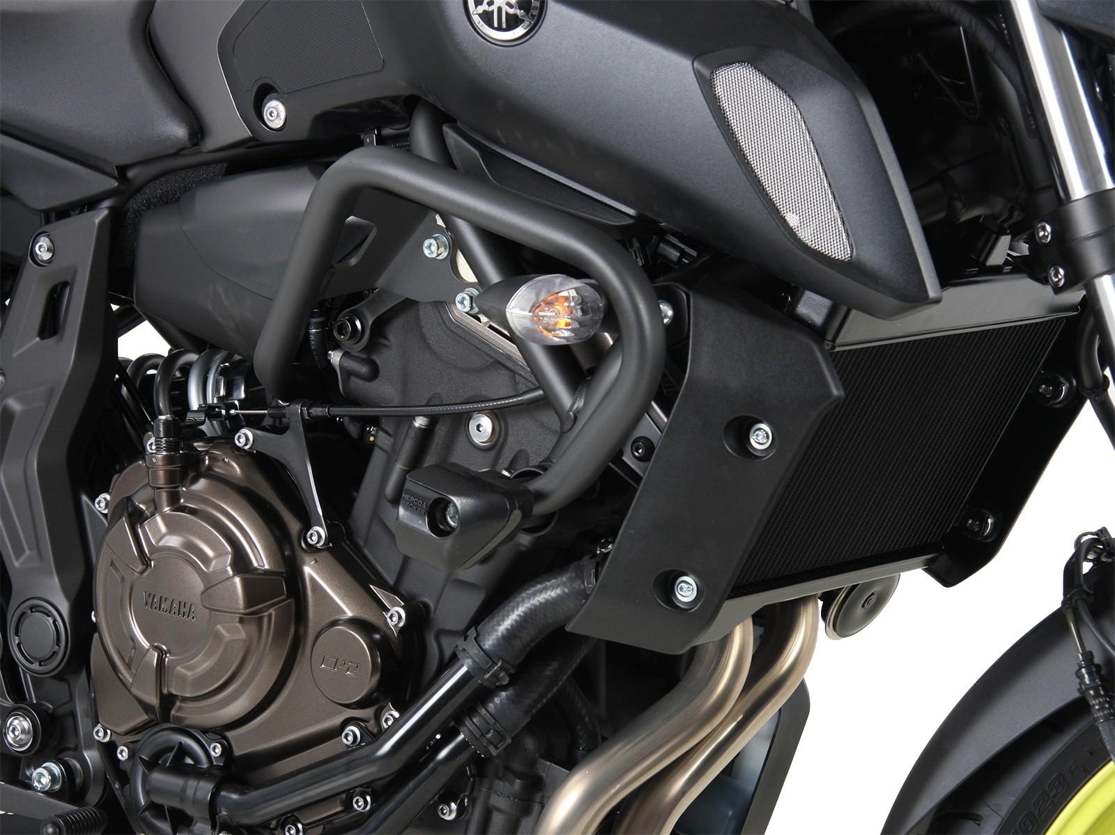 Tampons Protection Moto Carenage YAMAHA MT07 2014-2015 Pare-Carter