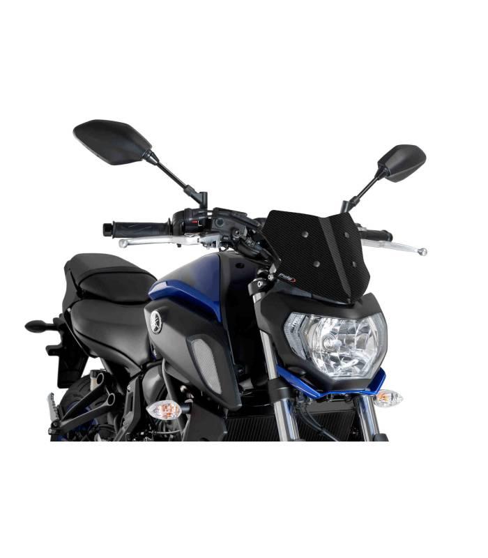 Bulle Pour Moto Yamaha Mt 07 2018 Puig Naked New