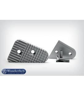 Extension pedale frein BMW R1150GS - Wunderlich Argent
