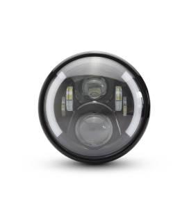 OPTIQUE DE PHARE MULTI LED CLIGNOS INTEGRES Ø 190mm