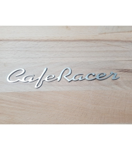 Ecussons de Réservoir en Aluminium Café Racer Chromés