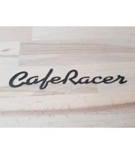 Ecussons de Réservoir en Aluminium Café Racer Noirs