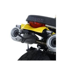Support de plaque Scrambler 1100 - RG Racing LP0256BK