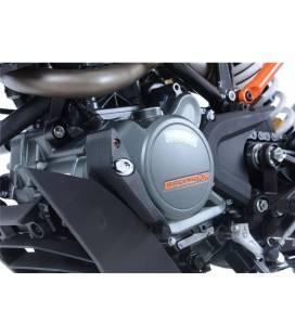 Slider moteur gauche Duke 125 - RG Racing ECS0119BK