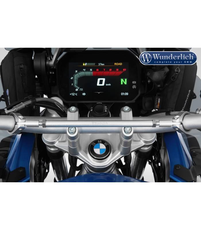 Guidon Poign/ées pour B M/&W R1250GS R 1250 GS Adventure R1250R R 1250RS R1250RT R1250 RS R Paire Moto Accessoires Guidons Embouts Grip Bouchons Poign/ées Moto Couleur : Bleu