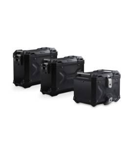 Kit bagagerie BMW R1250GS - SW Motech Trax Adv Noir