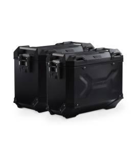 Kit valises BMW R1250GS - SW Motech Trax Adv Noir