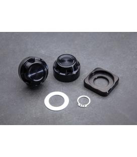 Kit Bouchons d'écrous d'axes de roues arrières Design Crown - ABM Wunderkind