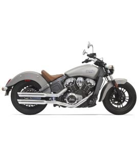 Silencieux Indian Scout - Bassani 8S17SC Chrome