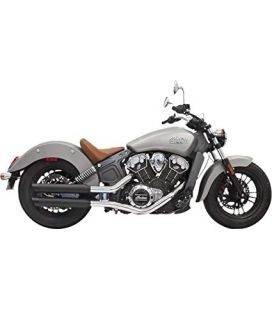 Silencieux Indian Scout - Bassani 8S17BSB Black