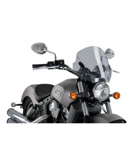 Bulle Indian Scout - Puig Stream Fumé clair