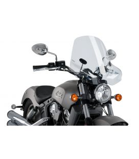 Bulle Indian Scout - Puig Touring II Transparent