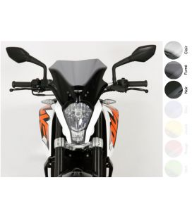 Bulle KTM 125 Duke - MRA Racing Noir