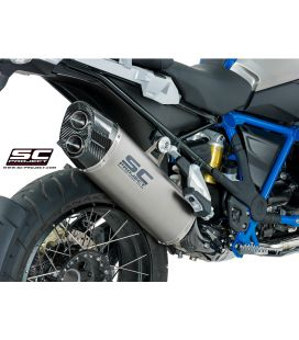 Silencieux BMW R1200GS Ad. 13-16 / SC Project Titane