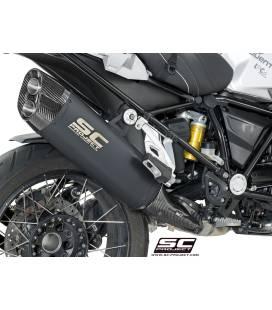 Silencieux BMW R1200GS 17-18 / SC Project Titane Noir