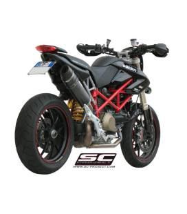 Silencieux Ducati Hypermotard 1100 07-09 / SC Project Noir