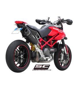 Silencieux Ducati Hypermotard 1100 10-12 / SC Project Noir