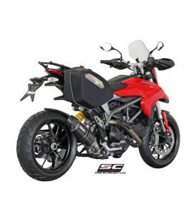 Silencieux Ducati Hypermotard 821 13-16 / SC Project Bas Carbone