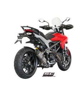 Silencieux Ducati Hypermotard 821 13-16 / SC Project Bas Titane