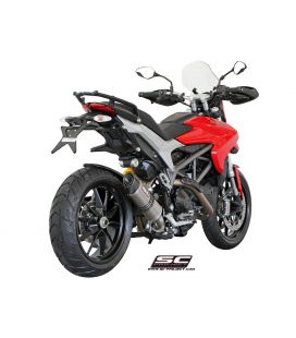 Silencieux Ducati Hyperstrada 821 13-16 / SC Project Titane