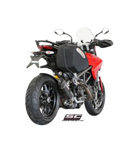Silencieux Ducati Hyperstrada 821 13-16 / SC Project Carbone