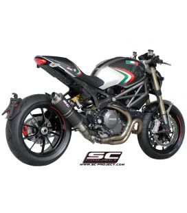 Silencieux Ducati Monster 1100 EVO - SC Project R60