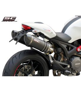 Silencieux Ducati Monster 696 - SC Project Carbone