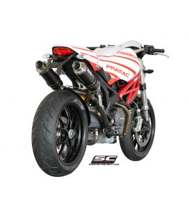 Silencieux Ducati Monster 696 - SC Project GP Carbone