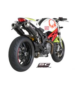 Silencieux Ducati Monster 696 - SC Project GP-EVO Carbone