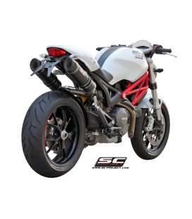 Silencieux Ducati Monster 1100/S - SC Project GP-Tech