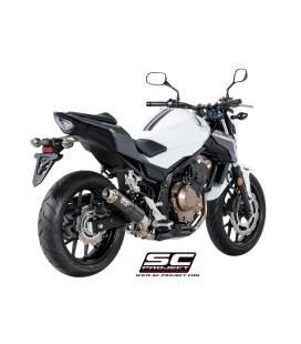 Silencieux Honda CB500F - SC Project GP-M2 Carbone