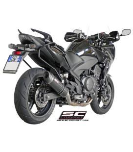 Silencieux Honda CBF1000 10-13 / SC Project Oval Carbone