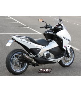 Silencieux Integra 750 DCT - SC Project Oval Carbone