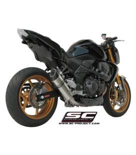 Silencieux Kawasaki Z750R 07-14 / SC Project Oval Titane