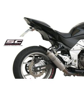 Silencieux Kawasaki Z750R 07-14 / SC Project GP Titane