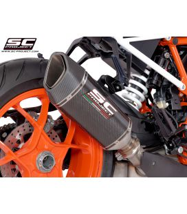 Silencieux 1290 Super Duke R 17-18 / SC Carbone