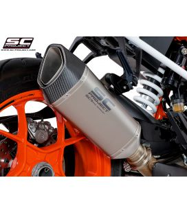 Silencieux 1290 Super Duke R 17-18 / SC Titane