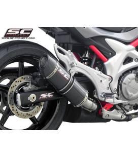 Silencieux Suzuki Gladius 650 - SC Project Carbone