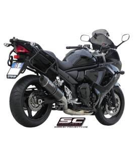 Silencieux Suzuki GSF1250 Bandit - SC Project Noir
