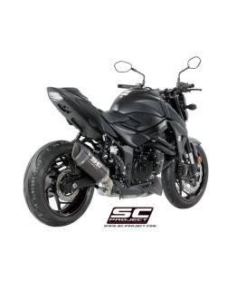 Silencieux Suzuki GSXS750 - SC Project SC1-R Carbone