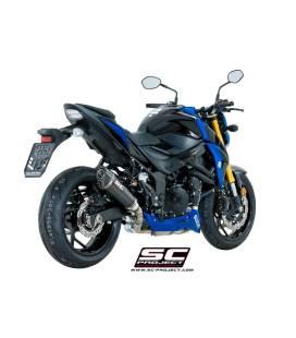 Silencieux Suzuki GSXS750 - SC Project Conic Carbone