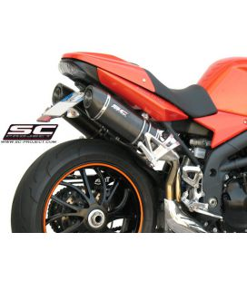 Silencieux Speed Triple 1050 05-06 / SC Project Carbone