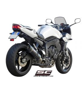 Silencieux Yamaha FZ1 - SC Project Oval Noir
