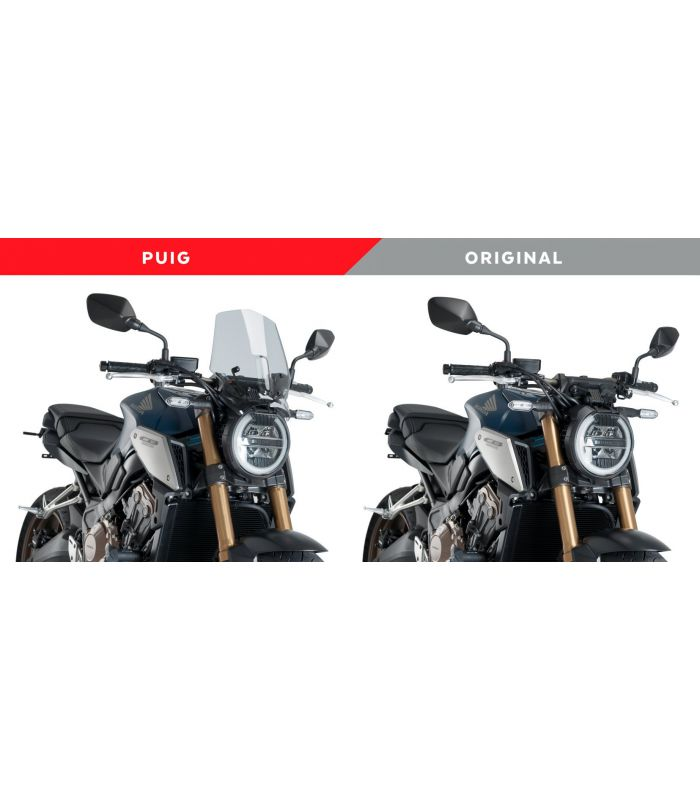 Puig Saut-Vent Naked New Generation 9748N CB650R Honda CB1000R Neo Sports Caf/é 18-19