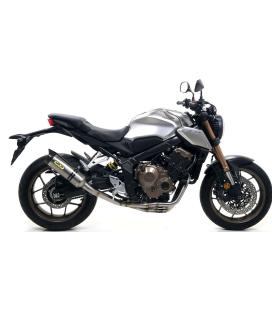 Ligne compléte Honda CB650R-CBR650R / Arrow Thunder Titane embout carbone