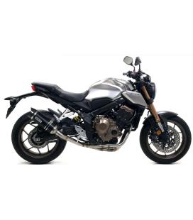 Ligne compléte Honda CB650R-CBR650R / Arrow Thunder Dark embout carbone