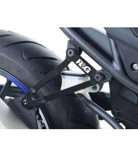 Patte fixation silencieux CBR500R - RG Racing EH0069BK